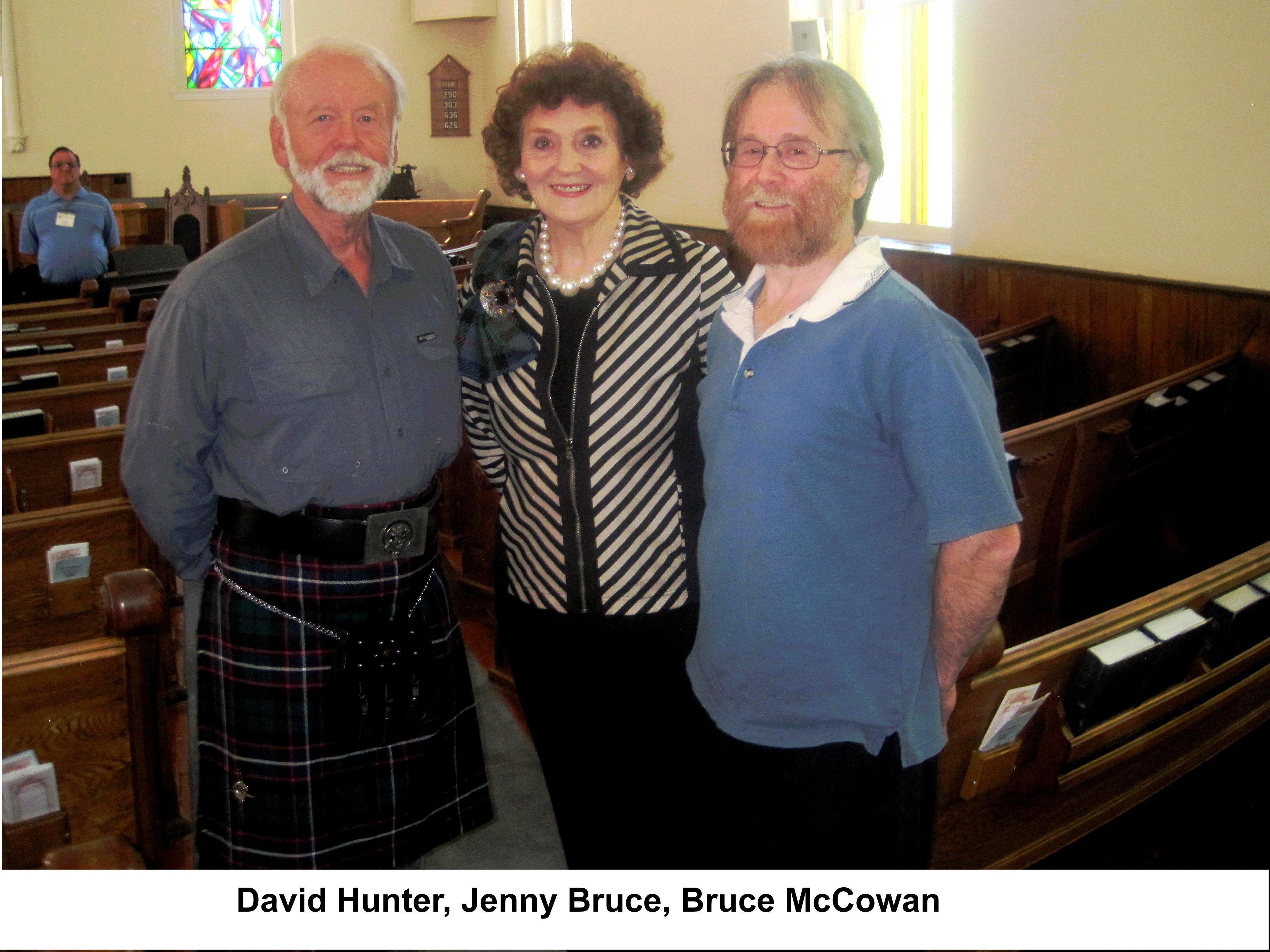 DAVID & JENNY &BRUCE